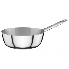 Stainless Steel Curved Saute Pan, 0.75L