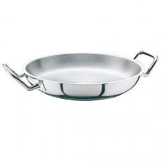 Stainless Steel 2 Handle Frying Pan, 20cm