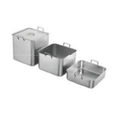 """Stainless Steel """"ABC"""" Bain Marie with Handle Cover Only"""