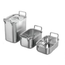 """Stainless Steel """"ABC"""" Bain Marie with Handle Cover Only, 15.5 x 10.6"""