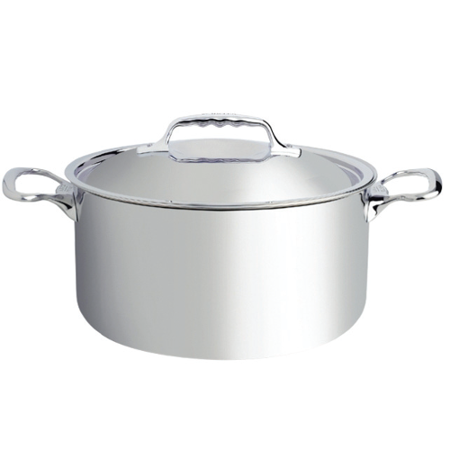 """AFFINITY"" Stainless Steel Casserole Pot, 10.4L"