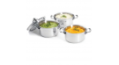 """""""AFFINITY"""" Stainless Steel Mini Stewpan w/Lid, 0.3L"""