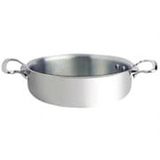 """AFFINITY"" Stainless Steel Mini Saute Pan w/o Lid, 10cm"
