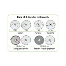 VEGETABLE PREPARATION MACHINES, Suggested Pack of 8 Discs