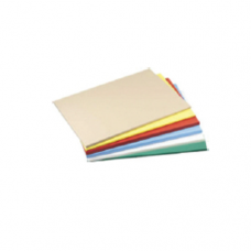 """High Density Color Coded Poly Cutting Board, 12 x 18 x 0.5"""""""
