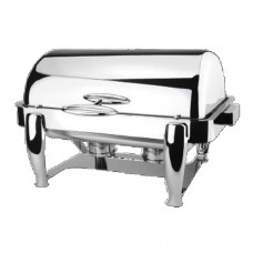 Deluxe Buffer Hinged Roll Top GN 1/1 Chafing Dish, Imperial Regency