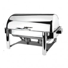 Deluxe Buffer Hinged Roll Top GN 1/1 Chafing Dish, Metro