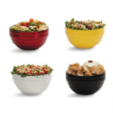 Round Beehive Double Wall Insulated Bowls, 0.7L