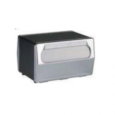 Napkin Dispenser, Counter Top 2 Sided, Black, 20 x 15.5 x 15.0cm
