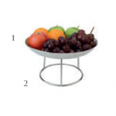 Nordica Fruit Tray and Stand, BU-37