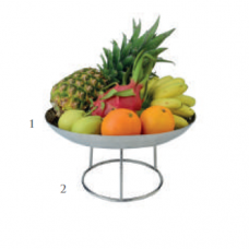 Nordica Fruit Tray and Stand, BU-38