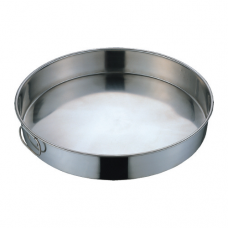 Stainless Steel Round Steam Rice Pan (Non-Perforated), 17""