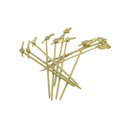 End Knot Bamboo Pick, 10cm