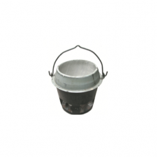 Apollo Charcoal Stove with Base, 25.4cm