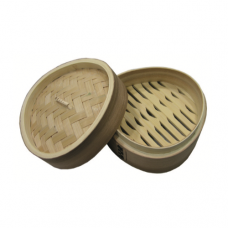 Triangle Deluxe Hokkien Wooden Steamer (Round Edge) Cover, 15cm