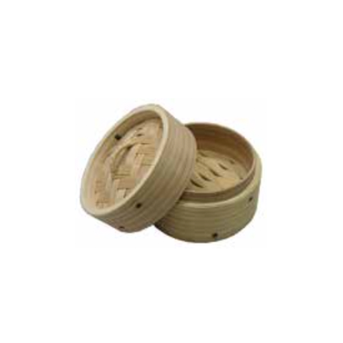 Round Deluxe Mini Wooden Steamer Base Cover, 10cm