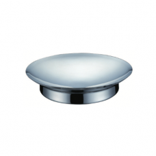 Stainless Steel Round Ingredient Plate with Stand, 22.8cm