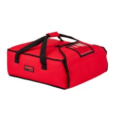 Cambro, GoBag Pizza Delivery Bag Hold 2x16 in Pizza Red, 46x46x16.5cm