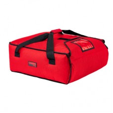 Cambro, GoBag Pizza Delivery Bag Hold 3x18in/46cm Pizza Red, 51x51x19cm