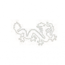 Stainless Steel Cutter, Dragon, 11 x 5cm