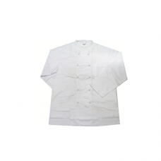 Long Sleeve Chef Uniform (Knob Button), L