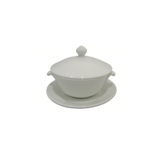 3-Pcs Double Boil Bowl, 13cm
