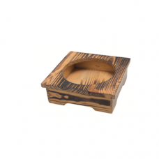 Wooden Base/Box For Stone Bowl, 15.5cm