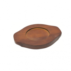 Wooden Base For Stone Bowl, 10.5cm