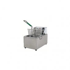 "1/2 Size x 8"" Single Electric Deep Fryer, 26.9 x 44.7 x 33cm"