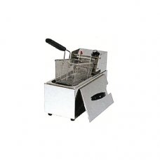 "1/3 x 8"" Single Electric Deep Fryer, 18 x 41.9 x 27.9cm"