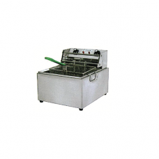"2/3 x 8"" Single Electric Deep Fryer, 36.8 x 44.7 x 36cm"