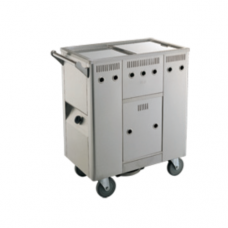 Stainless Steel Cheong Fun Trolley, 78 x 44 x 88cm