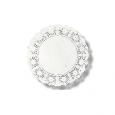 """Round Paper Lace Doyley, 10"""""""