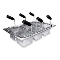Accessories for Table-Top Cooking Units, Pasta Basket Set, 4 baskets