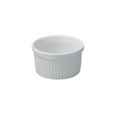 Individual Souffle, FRENCH CLASSIQUE, White