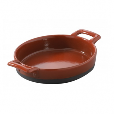 Creme Brulee Dish, BELLE CUISINE, Pepper Red-14.5x13x3cm