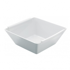 BOMBAY, Square Salad Bowl, White, 13x13x5.7cm