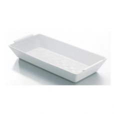 BOMBAY, Square Deep Salad Bowl, White, 16x16x7cm