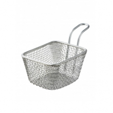 REVOL TOUCH, Chip Basket S/S, 10.5x9x9.5cm