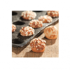 Silform® for Choux Pastry: Chouquettes, 3.8 x 1.0cm