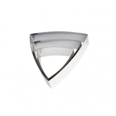 Convex Triangle MOUSSE Ring, 13.1 x 12.2 x 5cm