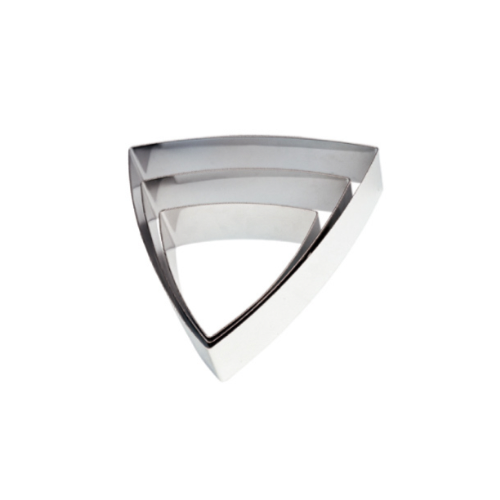 Convex Triangle MOUSSE Ring, 17.4 x 16.3 x 5cm