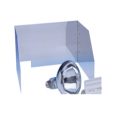 Protective Screen for Sugar Heating Lamp, 35.5 x 30 x 20cm