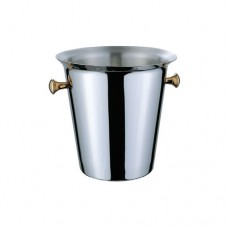 """Stainless Steel """"EUROPE"""" Style Champagne Bucket, 22 x 22cm"""