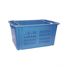 Stackable Container With Metal Handle, 70 x 49 x 43