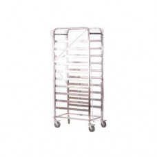 PVC Canvas Cover For Trolley with 2 Side Zip, 41 x 58 x 165