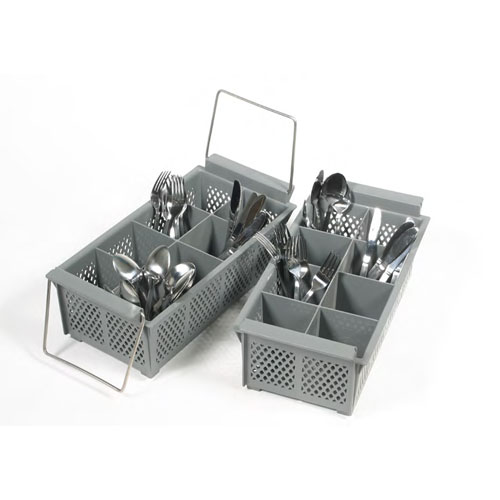8-Comp Flatware Basket With Handle