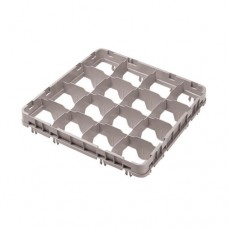 Cambro Glass Rack, 16 Comp Full Size Half Drop Extender