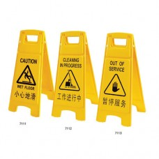 Floor Safety Signage: CLEANING IN PROGRESS, 30.5 x 27.9 x 66cm