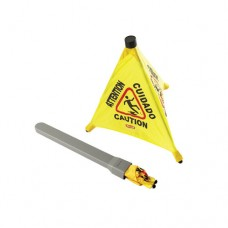 Pop-Up Safety Cone: Caution Wet Floor, 53 x 53 x 50.8cm
